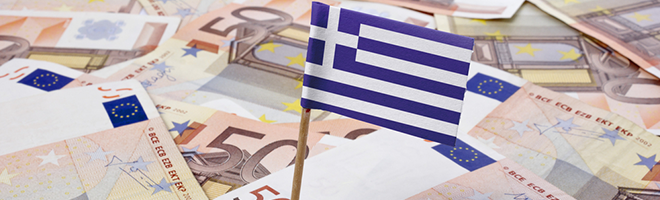 Greece in financial turmoil