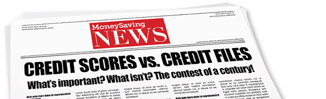Credit score vs. Credit file