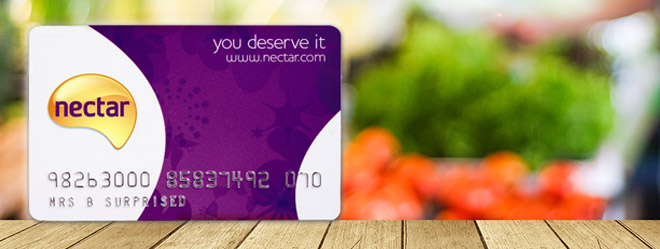 Nectar card loyalty scheme