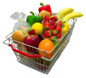 Weekly shopping basket